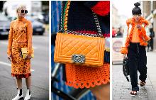 Оранжевият цвят действа като антидепресант, което го прави идеален за пролетта.