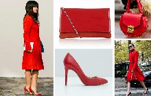 Street style дневници на червените аксесоари + шопинг предложения