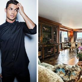 Апартаментът на Кристиано Роналдо в Ню Йорк