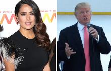 Салма Хайек разказва как Доналд Тръмп й е отмъстил заради отказа й на предложението му за среща