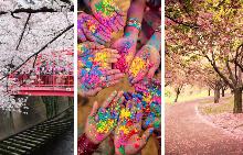 Пролетта е еднакво вдъхновяваща по целия свят!