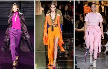Пролетните цветове в гардероба за 2017-та са фуксия, нежно розово и оранжево.
