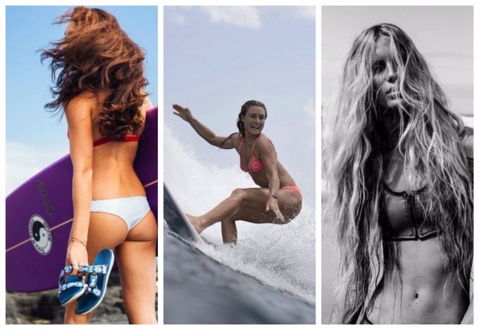 9 горещи сърфистки в Instagram