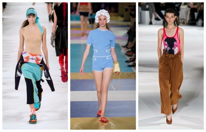 Стилът с бански завладява гардероба за пролет 2017