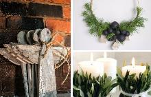 33 идеи за коледна декорация в интериора