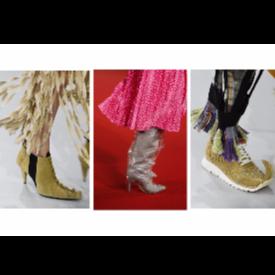 Най-странните обувки от Paris Fashion Week