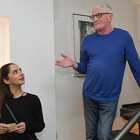 """Маргарита и Раймондо благодариха на всички присъстващи фотографи, критици и търсачите на ново вдъхновение за подкрепата и ги призоваха най-вече да открият собствената си интерпретация на снимките и текстовете към тях. Изложбата ще бъде отворена за посетители в галерия """"Аросита"""" до края на годината."""