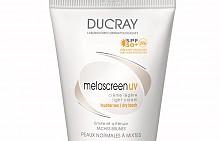 Дневен крем Melascreen на Ducray за коригиране на кафявите петна и последиците от фото-стареенето на кожата