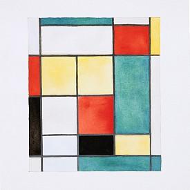 """ИЗБОРЪТ НА ЕЛИ: Шери Левин, """"After Mondrian"""", 1984 г.,с предварителна оценка 15–20 хиляди долара."""
