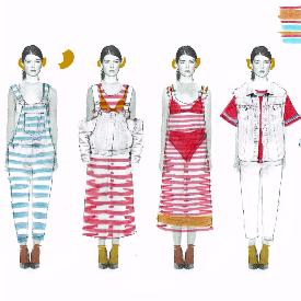 Модните скици на Даяна Ангелова от ИВАН АСЕН 22.