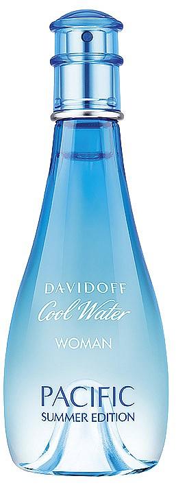 Деликатен плодово-акватичен и цветен, DAVIDOFF Cool Water Pacific ни напомня за плажовете на Калифорния. Нотки на пъпеш, сочен ананас и свежа мента преливат в букет от момини сълзи и ирис. 100мл, 103лв.