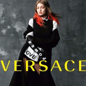 Джиджи за Versace