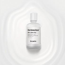 Почистваща пилинг маска Dermaclear Micro Milk Peel на  Dr Jart (SEPHORA). Вдъхновена от азиатската грижа за кожата, тя е с двуфазно действие – скраб, който отстранява мъртвата кожа в първата фаза и киселини за пилинг ефект във втората фаза.