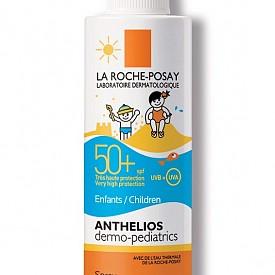 Слънцезащитен спрей с флуидна текстура Anthelios dermo-pediatric на La Roche-Posay SPF 50+