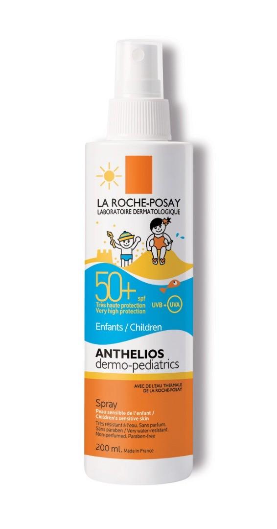 Слънцезащитен спрей с флуидна текстура Anthelios dermo-pediatric...