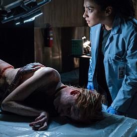 """""""Дяволът в теб"""" е вледеняващ хорър! Бившето ченге Мегън Рийд (Шей Мичъл) се опитва да вкара живота си в релси, след като не успява да предотврати убийството на своя партньор. Докато си стъпи на краката, Мегън започва работа в моргата в болница в Бостън, където намира спокойствие и усамотение. Но една нощ това се променя, след като в моргата е докаран труп на момиче, починало по време на екзорсистки ритуал.  Вече е в кината."""