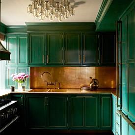 Камерън Диаз / Кухнята е мястото, в което актрисата изкарва по-голямата част от деня си, когато си е у дома. Затова се е погрижила да е уютна и удобна.