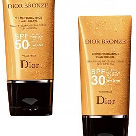 DIOR претворява емблематичната си слънцезащитна линия за лице DIOR Bronze, като подсилва силата й и прави аромата й още по-свеж, флорален и тропически.