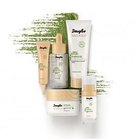 Цялата серия на Douglas дава енергия и сияние на кожата. Освен флуида, ще откриете още - околоочен крем, енергизиращо олио, нощен крем и маска.