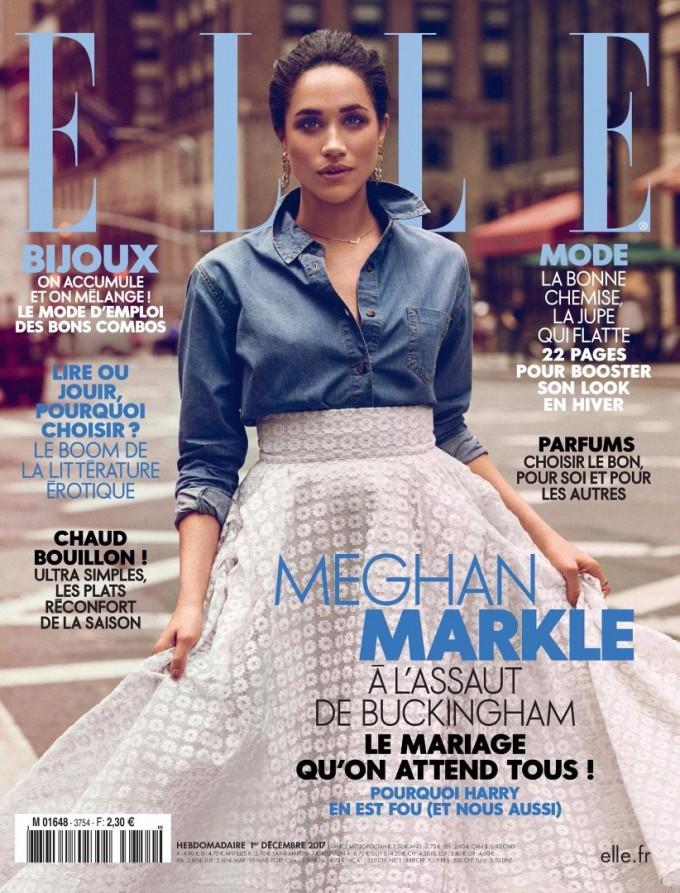 Меган Маркъл е на корицата на френския ELLE