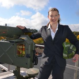 Джесика Риландер бди над шведското небе