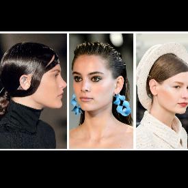 Ушите са в центъра на вниманието, а да се виждат, без значение дали са с обици, вече не е порок, а обратно.