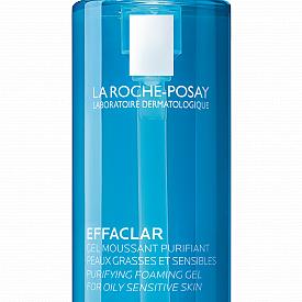 Гел за почистване на лице Effaclar Gel Moussant Purifiant за комбинирана и мазна кожа, склонна към акне.