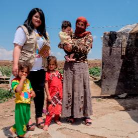 Мирна се опитва да помогне на жените, отвлечени от т. нар. Ислямска държава.