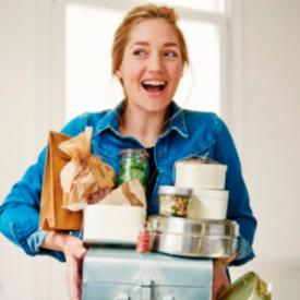 Сестрата на Дутцен Крус, която издава кулинарни книги за здравословно хранене
