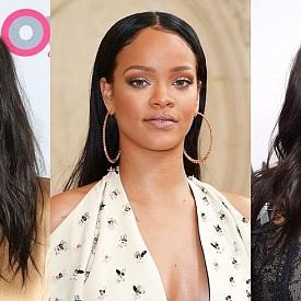 НАТУРАЛНО ЧЕРНО: Все повече знаменитости експериментират с нещо, което рядко виждаме - техния естествен цвят, особено тези с мека черна коса като Шей Мишел, Риана и Даян Гереро. Този оттенък е по-лек от миналогодишното гарваново черно и е подходящ за всеки тон кожа.