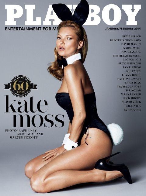 Кейт Мос на корицата на сп. Playboy