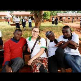 Емили Киров в Уганда