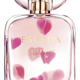 ESCADA Celebrate N.O.W е не просто аромат, а обещание към себе си. С него може да празнувате позитивността, радостта, природата на жената... С него може да празнувате живота! Енергичен, той е олфактивна почит към уверените жени, които се наслаждават на всеки ден и всеки миг. Усмихнати и влюбени в живота, те оставят ароматна следа на топли акорди от канела и зърна тонка, в сърцето разцъфва магнолия, а връхната нотка е пикантен джинджифил.