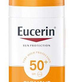 Слънцезащитен флуид срещу пигементация Pigment Control SPF50+ на EUCERIN