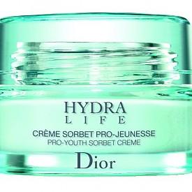 Крем за моментално съживяване и хидратиране на кожата Hydra Life Sorbet Creme на Dior