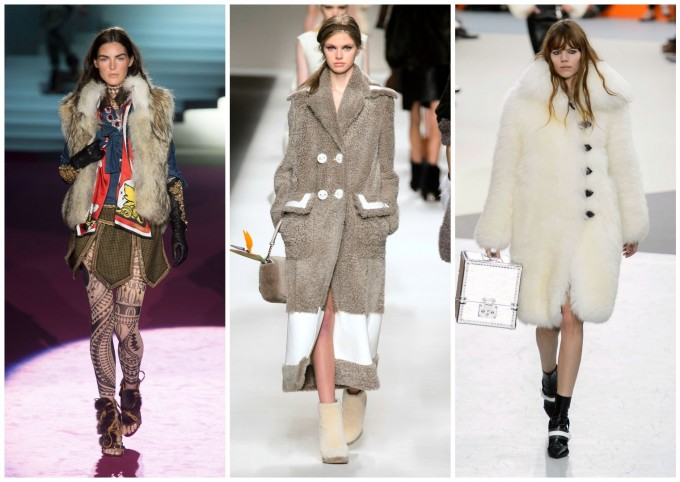 DSquared2 F15; Fendi FW15, Louis Vuitton FW15