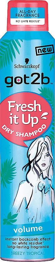 GOT2B FRESH IT UP VOLUME е сух шампоан, който дава мигновен обем на косата и плътност на косъма. Отстранява излишната мазнина по косата и скалпа и е добър помощник, за да се разреди честото миене на косата през зимата, което допълнително я дехидратира.