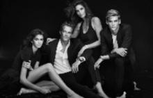 Семейството на Синди Крауфорд се снима за нова реклама