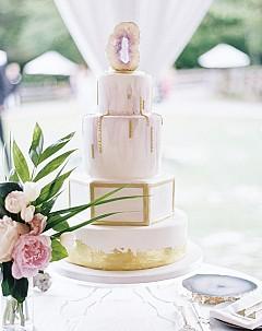 Тема Geode в сватбените торти