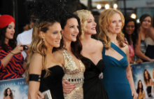 """Кари, Шарлот, Саманта и Миранда от """"Сексът и градът"""""""