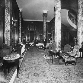 """Интериорът на хотел """"Риц"""", 1920 г."""