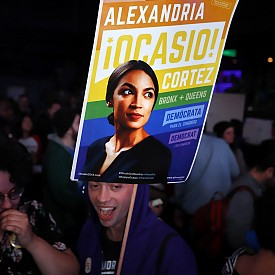 Плакати на Александрия по време на предизборната кампания