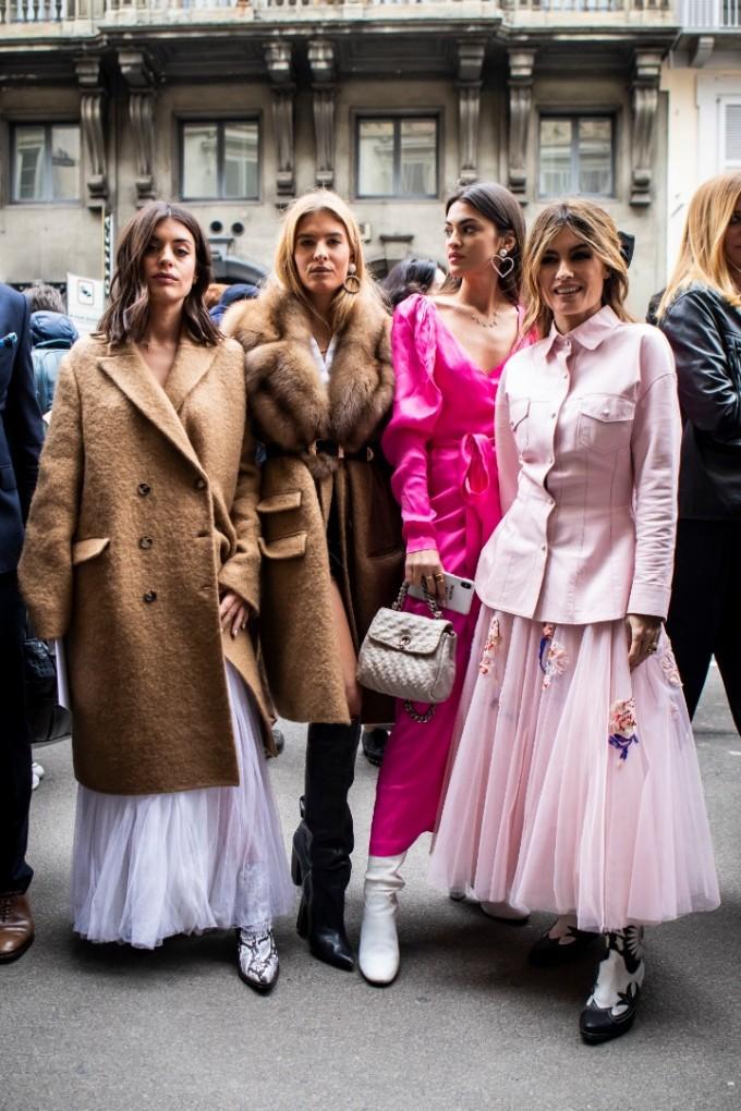 Стрийт стайл от Седмицата на модата в Милано