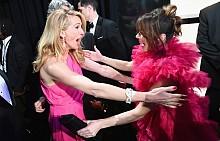 РОЗОВО - трендът на червения килим на Оскари 2019