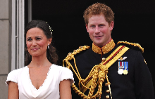 Пипа и Хари на сватбата на Уилям и Катрин
