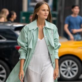 Street Style от Ню Йорк: Да смесим лятото с есенния гардероб