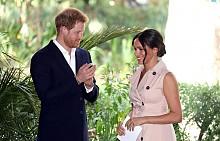 Меган Маркъл и принц Хари в Йоханесбург