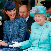 С херцогиня Катрин