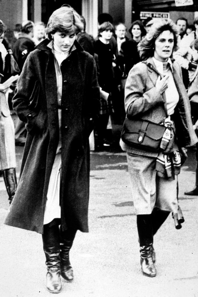 Принцеса Даяна и  Камила Паркер-Боулз