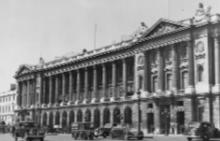"""Фасадата на хотел """"Крилон"""" от 1938 г."""